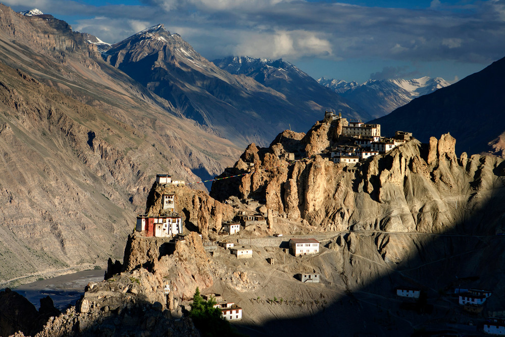 Dhankar Fort Spiti Valley, India