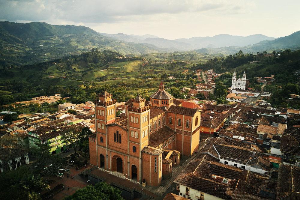 Jerico church aerial