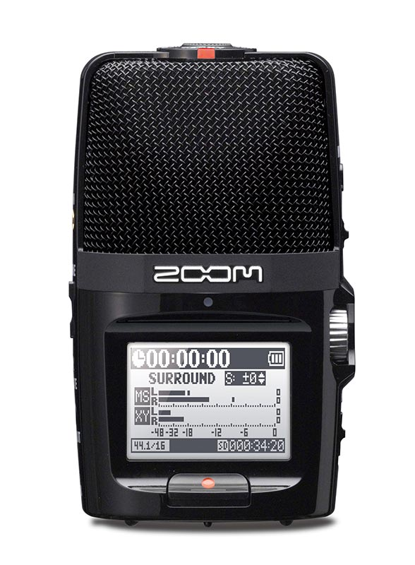 The Zoom H2N sound recorder