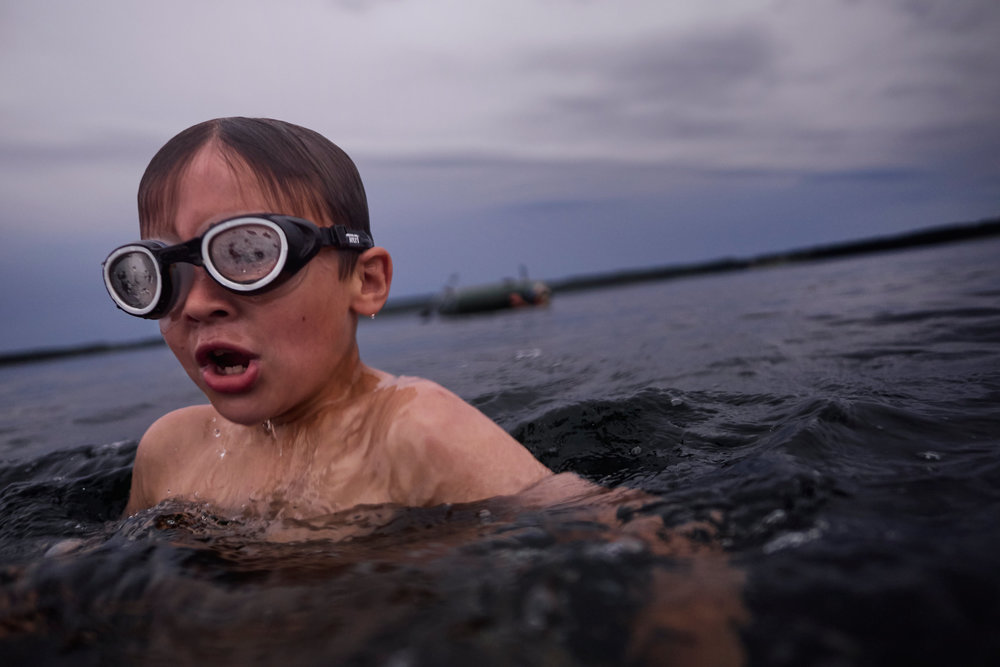 Braslav-Belarus-boy-in-lake