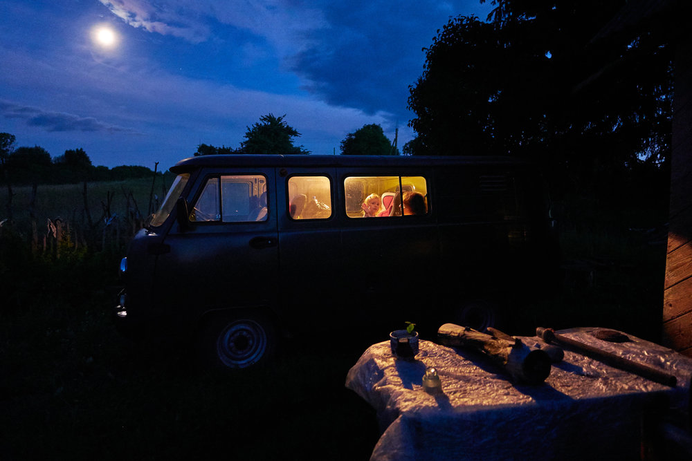 Braslav-Belarus-night-in-UAZ-van