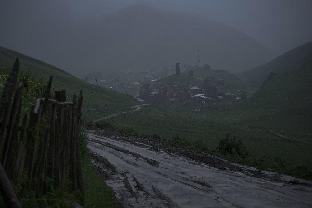 Svaneti-Ushguli-rainy-weather