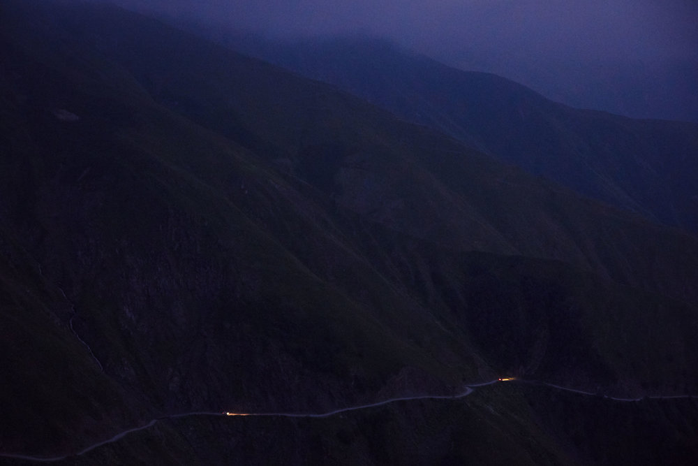 Tusheti-Georgia-mountain-road-at-night