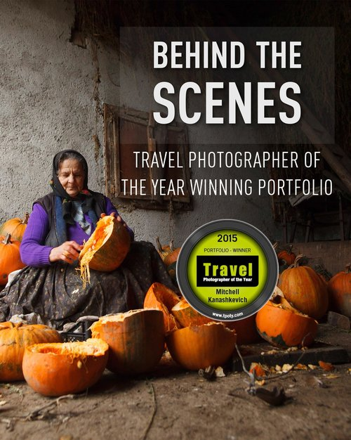 Travel photography behind the scenes