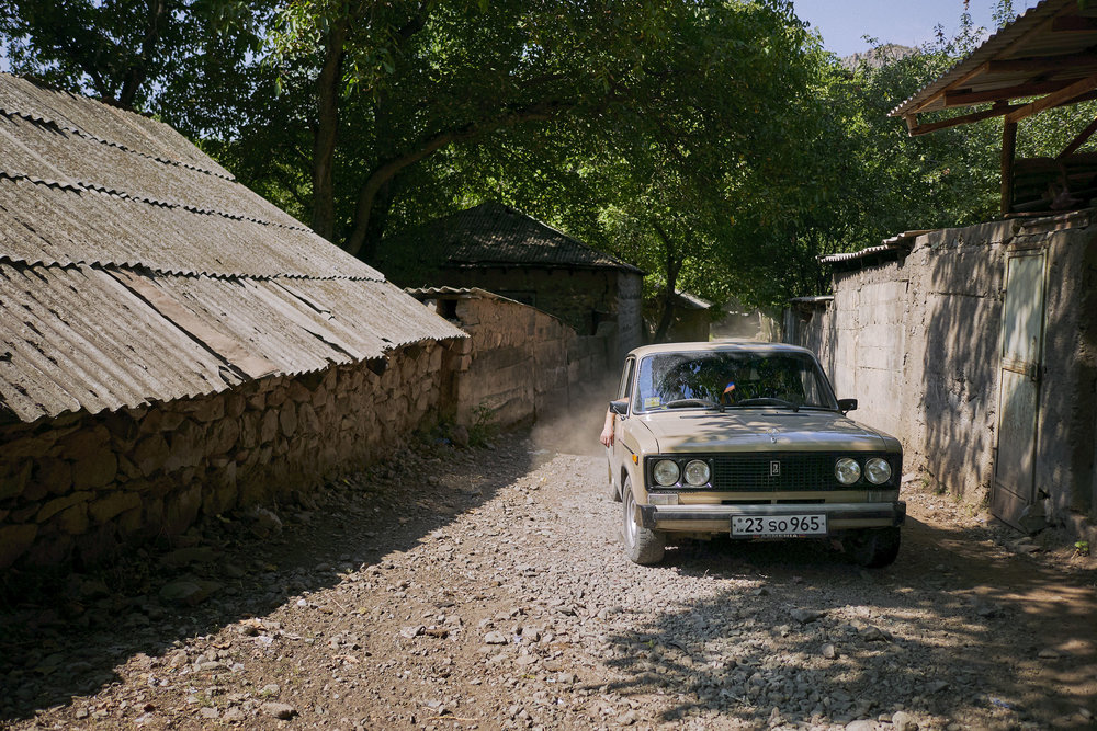 Armenia-Vayots-Dzor-Soviet-car