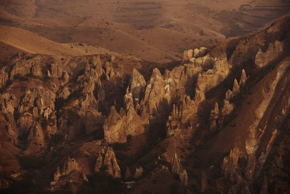 Armenia-Goris-natural-pyramids