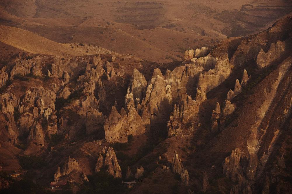 Armenia-Goris-natural-pyramids
