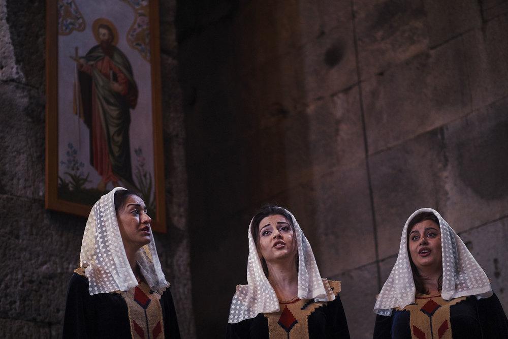 Armenia-Tatev-choir-singing