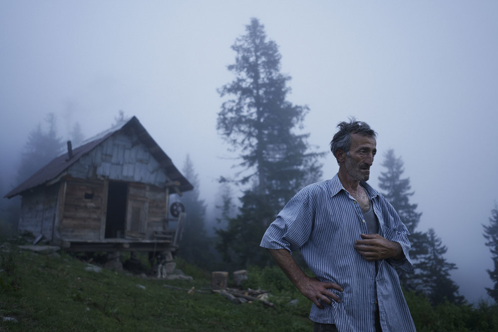 Shepherd in front of his hut in mountaineous Adjaria.jpeg