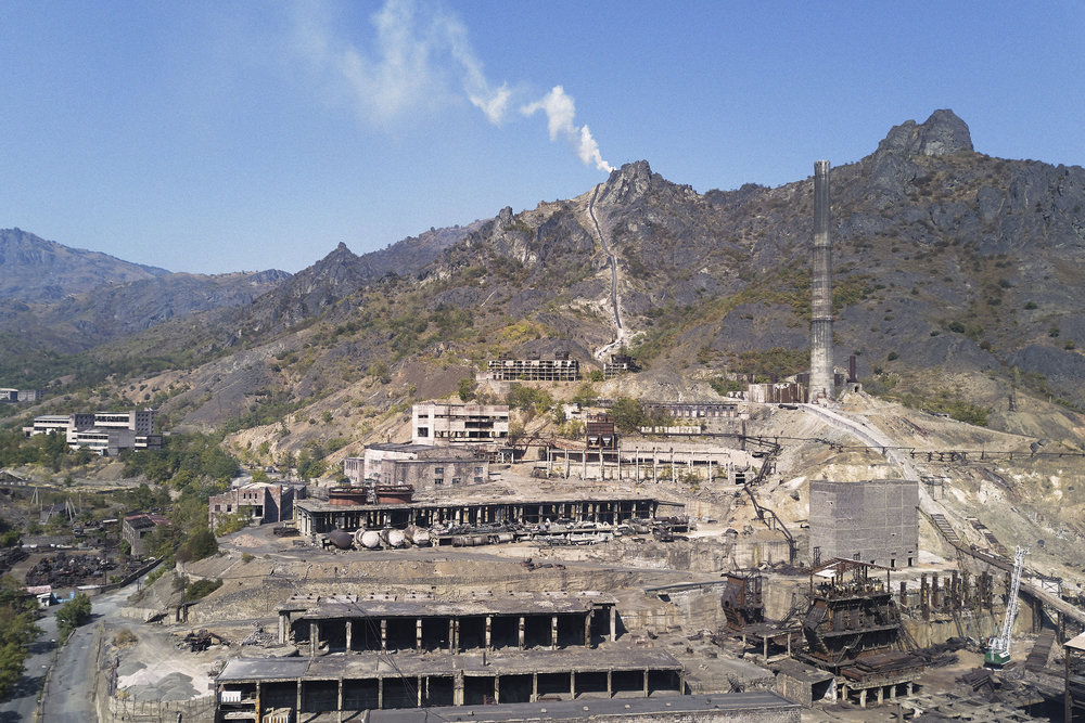 Factory in the mountains of Armenia.JPG