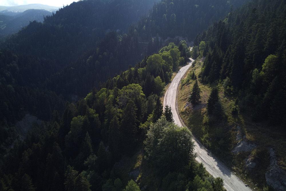 View from a road in High Adjaria, Georgia.JPG