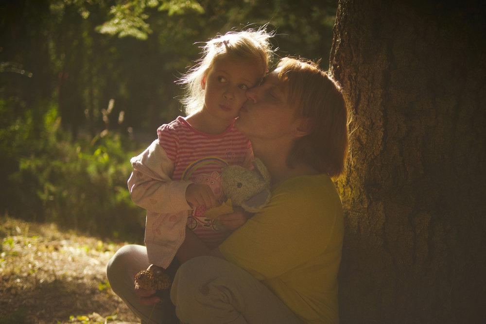 Tanya and Mia - Mum and daughter