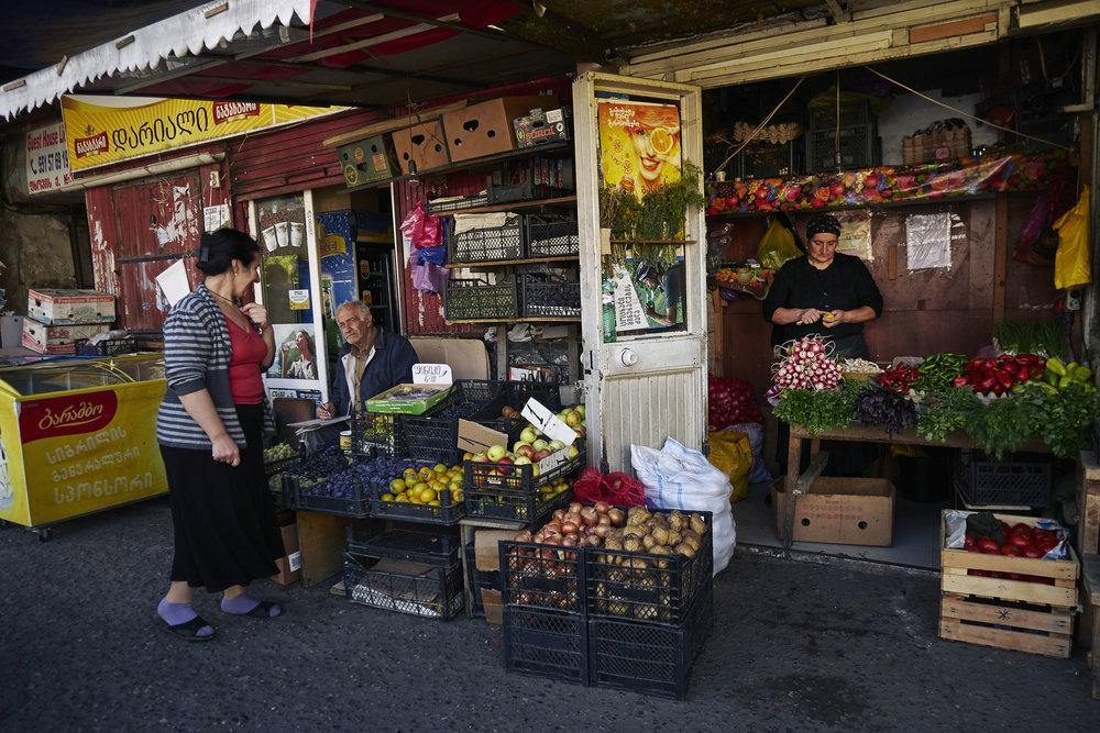 Tbilisi colorful shops.JPG