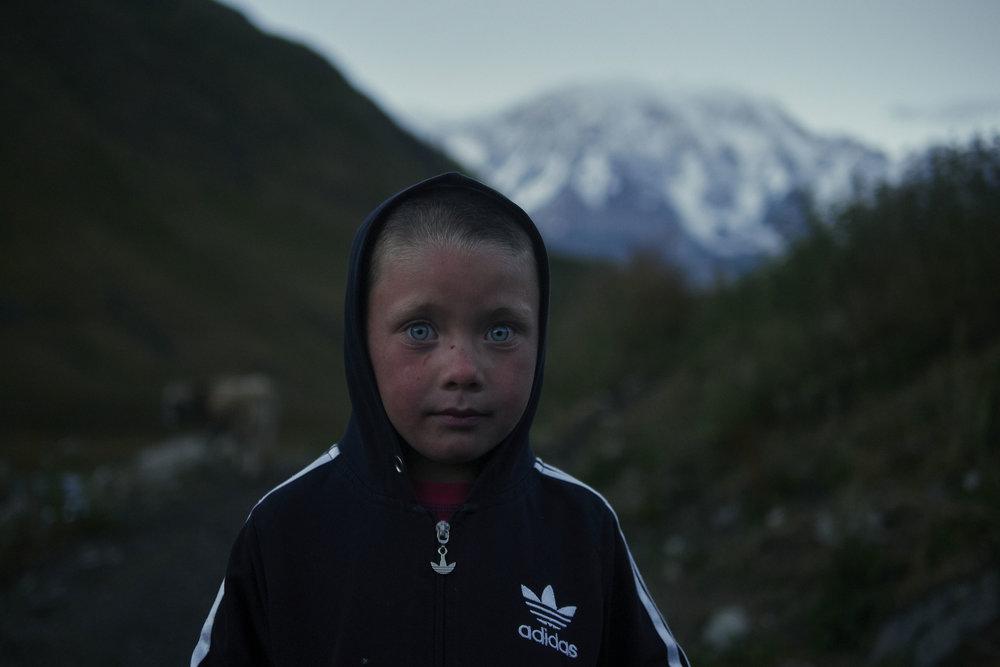 Young shepherd in Ushguli, Georgia.JPG