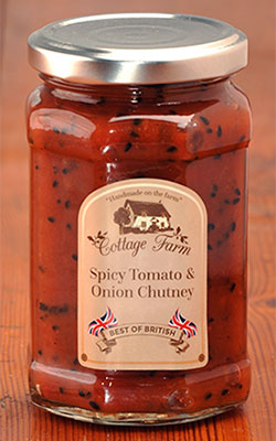 Spicy Tomato & Onion Chutney