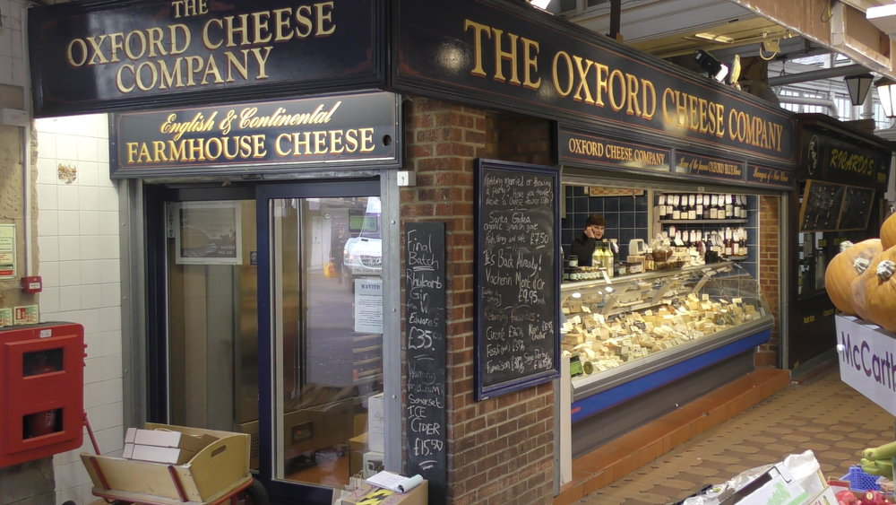 Oxford Cheese Company - Oxford Covered market