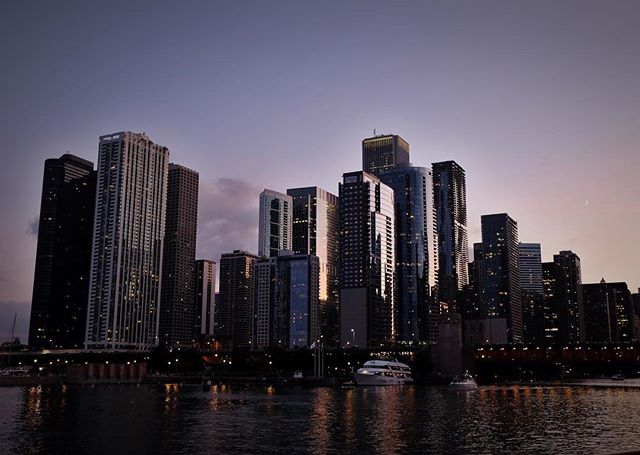 The view from our cruise on Chicago's Classic Lady.