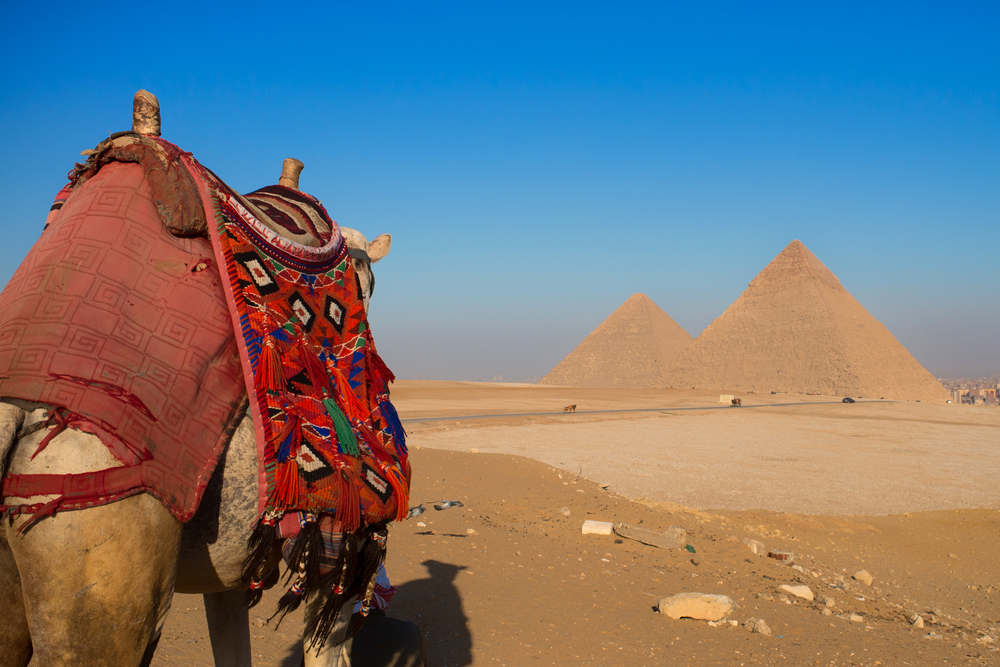 The Great Pyramids  |  Giza, Egypt