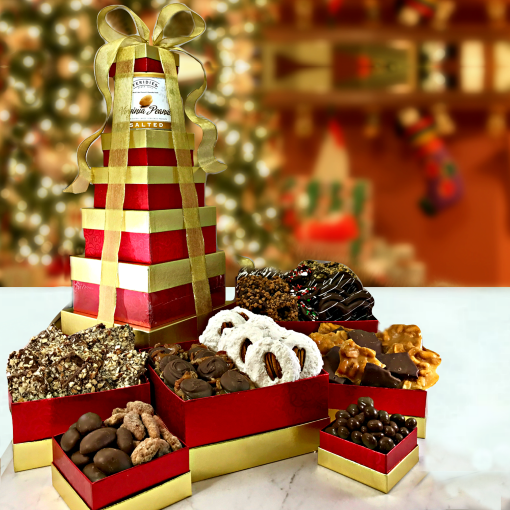 New! 7 Story Nutty Gift Tower