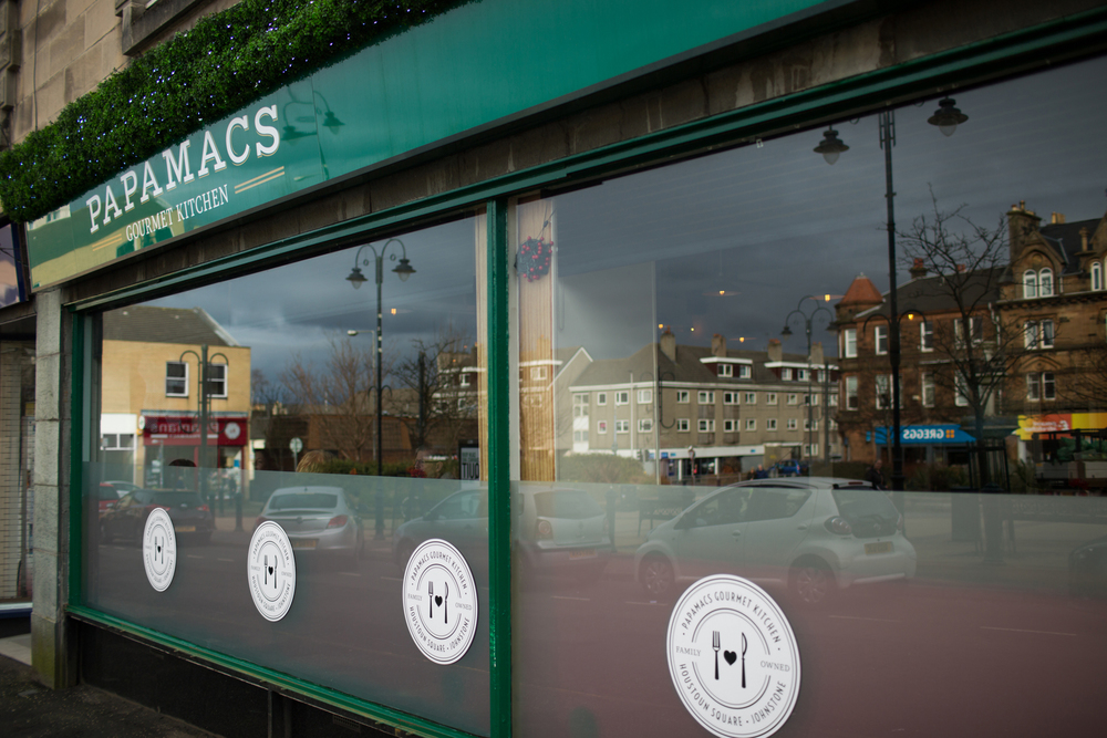 Papamacs Gourmet Kitchen - 5 Houstoun Square, Johnstone, Renfrewshire.