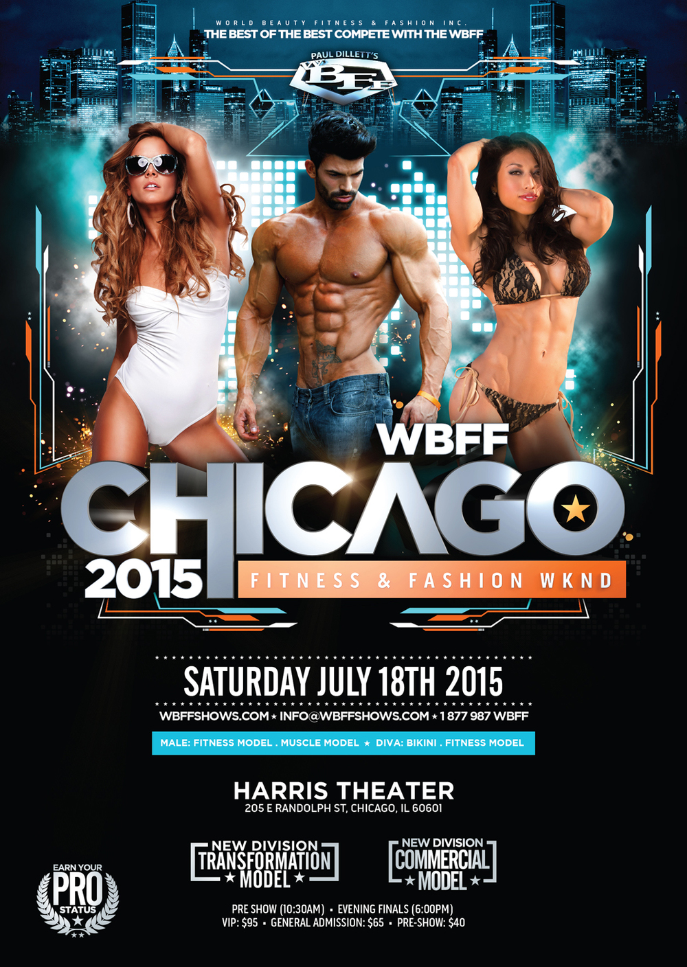 2015 Chicago WBFF show (model: Sergi Constance)