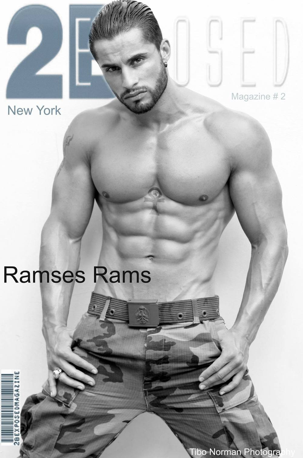 2Bexposed magazine (model: Ramses Rams)