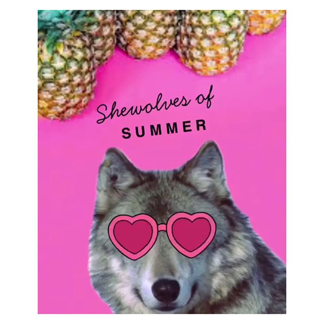 • SHEWOLVES OF SUMMER • ☀️ 6-week accountability group begins with an orientation week on Monday!! Limited time sale of the meal prep menu & workouts (comes with options for beginners, intermediates, and home workouts!) is live on my website! Link in bio 👌🏽. ☀️ I will be following the programs with you guys, as our fearless leader @paola_fink facilitates the group. I need this structure & delicious healthy food in my life rn!! 😅🙏🏽💗