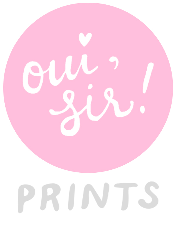 oui, sir! prints