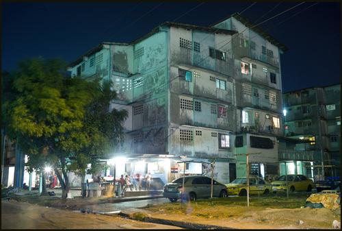 Chorilo at night.