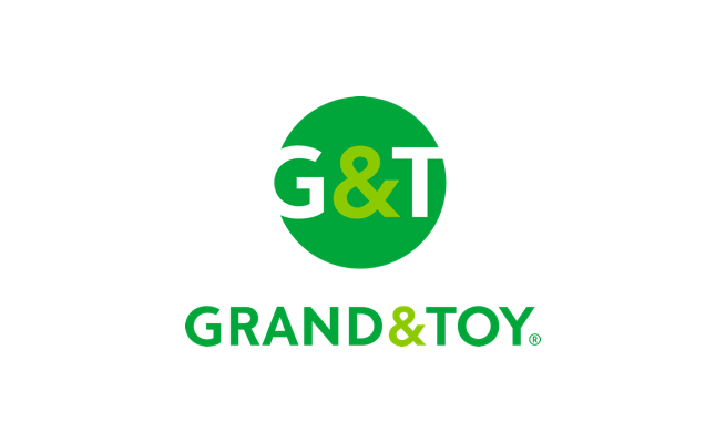 Grand & Toy is a leading provider of workplace products and solutions serving Canadian businesses over 130 years. From the latest technology, interiors and furniture, everyday office supplies and facility resources to a wide range of print and document services, they provide workplace innovation that enables their customers to work better.
