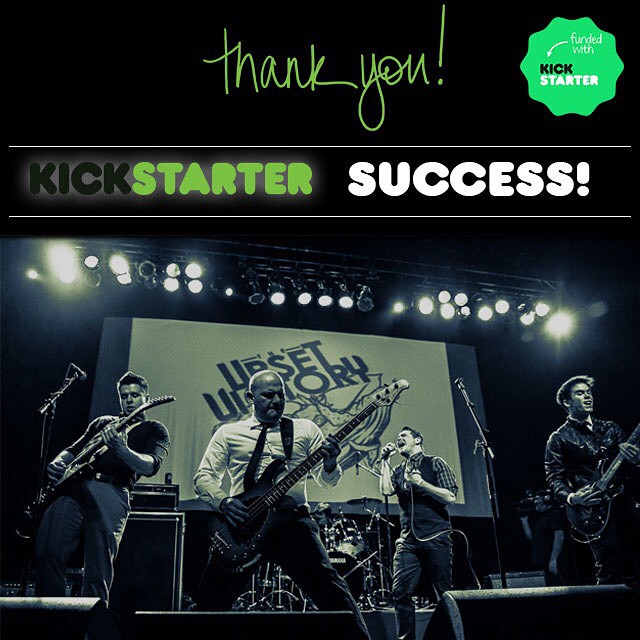 "THANK YOU!    This particular milestone has been years in the making. We've accomplished a lot in our relatively short tenure as band, but, we'd have to say, seeing our supporters rally around a unified goal such as this has to be at the top of our list for special moments. As cliche as might be to say, we truly could not have done this without YOU. And, for that we are truly grateful.     From your generous support, passion, and enthusiasm - you all brought your ""A game"" to this campaign and it certainly paid off. We truly appreciate every contribution, tweet, email, phone call, text message, status update, etc. that was sent regarding TUV and this campaign.     We're ready to take on 2015 and the success of this Kickstarter certainly was a great way to kick off the New Year. We've put in a lot of hard work, time, and ourselves into this music. Ecstatic is an understatement for the way we feel about this new album.     We spent the past year writing and doing pre-production for this release - a journey that took us back to Orlando this past Fall and now will see us return to Orlando a week from today to continue this journey. Our team is at the top of their game. Rest assured that your contributions will be put to use effectively.    We truly can't thank you enough for your time and contributions.    There's a lot of great things in the works for when we return home and we look forward to conquering 2015 with you!    Together we created this album.    + The Upset Victory    *Special tribute to all of our wonderful donors coming!"