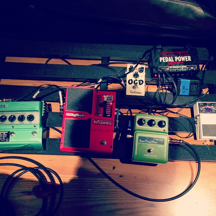 dialing in some tones for @theupsetvictory 's full length record (at Starlight Studios) .