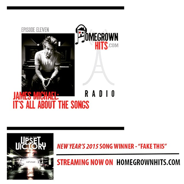 "Our single, ""Fake This"", was honored as Homegrown Hits' New Year's song for 2015. They had some great things to say: ""…The Upset Victory with their smart, powerful rock piece, ""Fake This""…"" Thank you to korgusa & presonus for the kickass new studio gear too - excited to write w/ our new toys! Be sure to listen to the official podcast as well featuring legendary producer/song-writer James Michael (Mötley Crüe, Scorpions, Jack's Mannequin) as they analyze and weigh in on our track. Always rewarding and humbling to get kind words and props from a great musician such as James. Listen to the podcast feature here: po.st/bfUuQj"