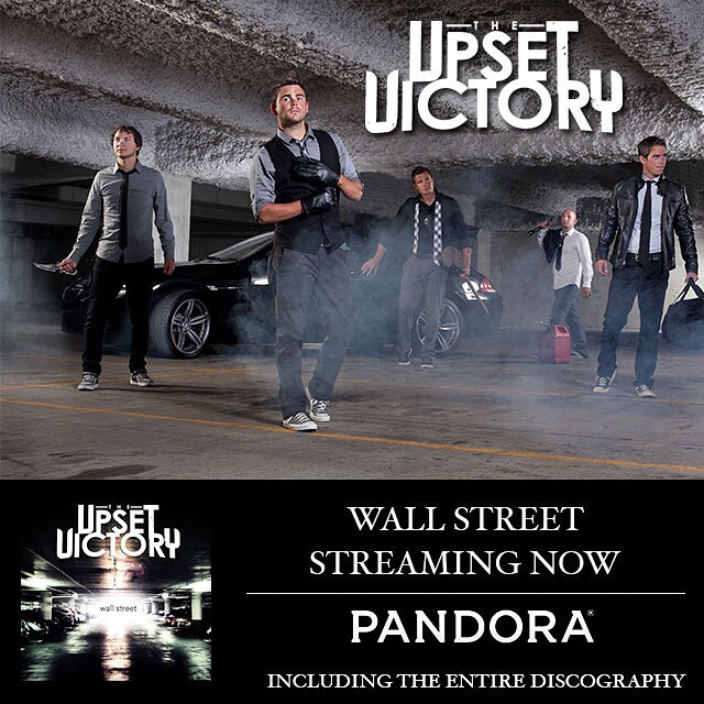 We've teamed up w/ Pandora to bring you our 'Wall Street' EP. It's been a long time coming and we couldn't be happier to bring this EP to your ears via another great outlet. Thanks to the cool team over at Pandora.   Give it a stream today - enjoy!    www.pandora.com/upset-victory
