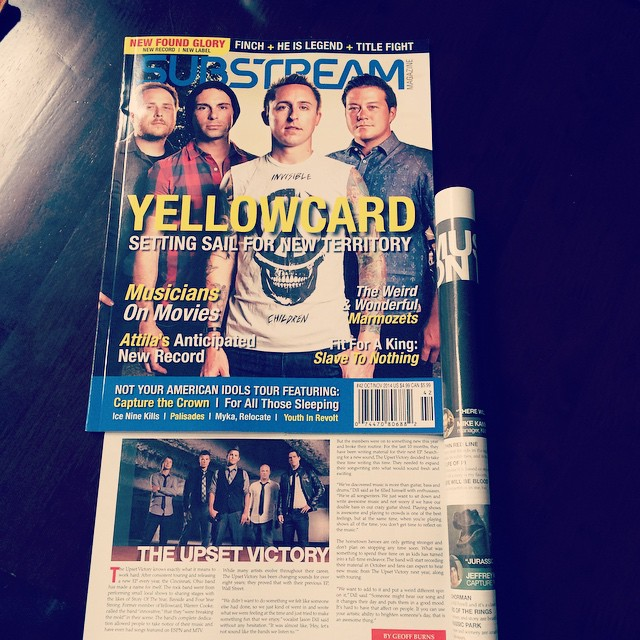 Hey friends! Excited to announce that we're featured in the newest issue of Substream Magazine (Issue 42). Huge thanks to the cool folks at substream for the kick ass interview/feature and of course you all! Snag a copy at FYE, Barnes & Noble, Hastings Entertainment, Books-A-Million or purchase the issue online here: http://bit.ly/Issue42 Photography credits: Andrew Doench & Jeremy Kramer