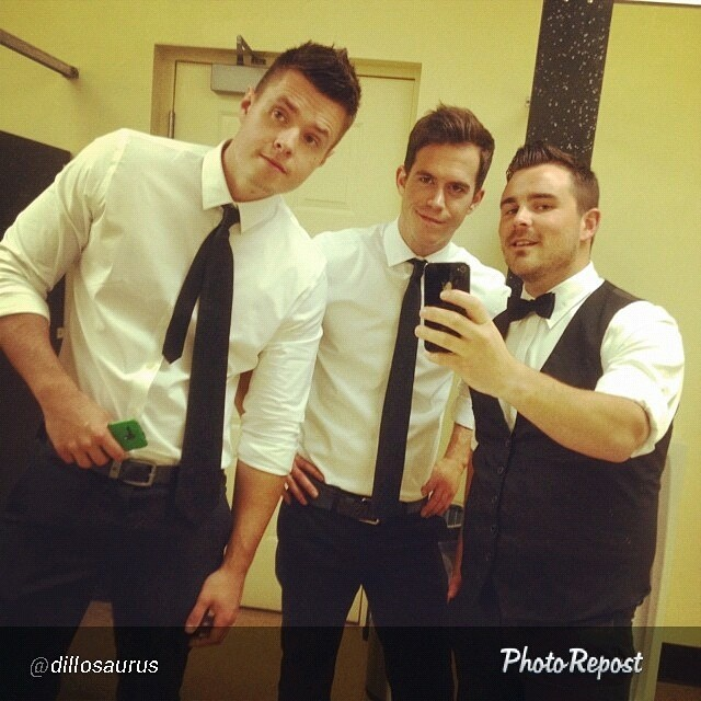 #latergram #regram from @dillosaurus 3/5th's of TUV attempt at looking dapper @stephentuv @frankievictory via @PhotoRepost_app