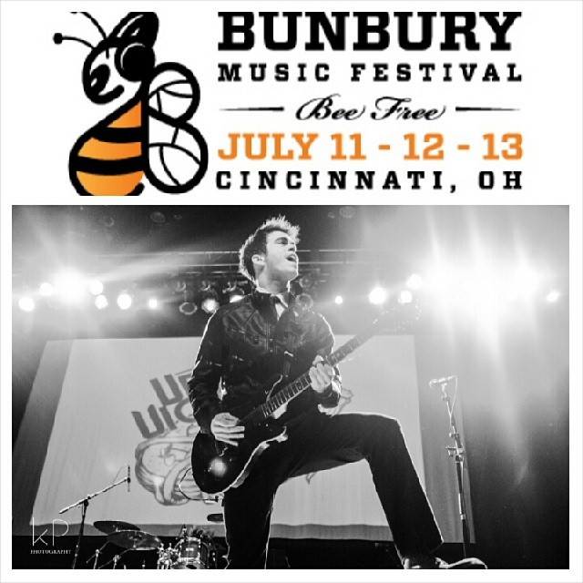 Excited to announce @TheUpsetVictory will be playing @BunburyFestival this year! Some great acts are set to play, so snag a ticket and come hang out with us.   @ScratchPadUSA and @PRSGuitars you'll be seeing your gear in action when we hit the stage.   Photography props @mikecimages   Tickets: http://bunburyfestival.com/tickets