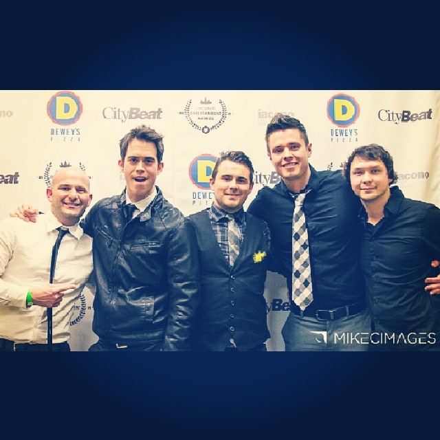 Backstage at the 2014 CEA Awards. Thanks for the support friends!   Photography props  mikecimages