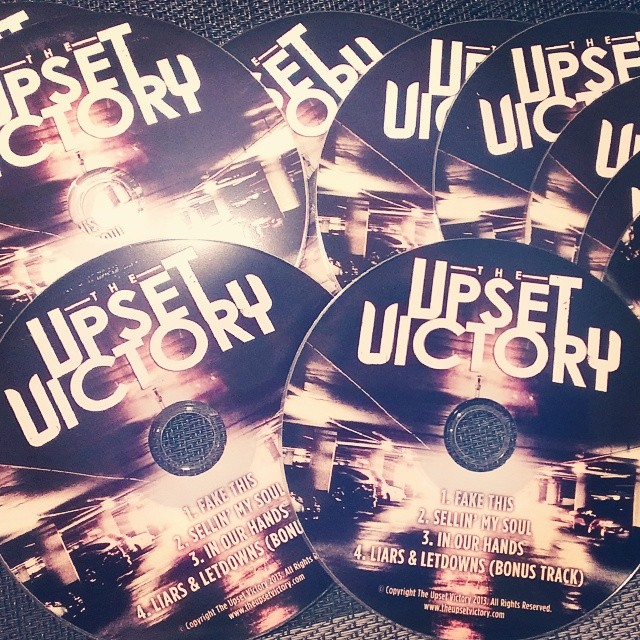 Received these bad boys today - hard copy promo discs of our seventh release 'Wall Street'. Now available everywhere online or for licensing via Gas Can Music!      http://smarturl.it/wallstreetitunes        http://gascanmusic.com/the-upset-victory      www.theupsetvictory.com      #theupsetvictory #wallstreet #album #CD #bands #iTunes #gascanmusic #music #rock #pop #alternative #album #licensing #cincymusic