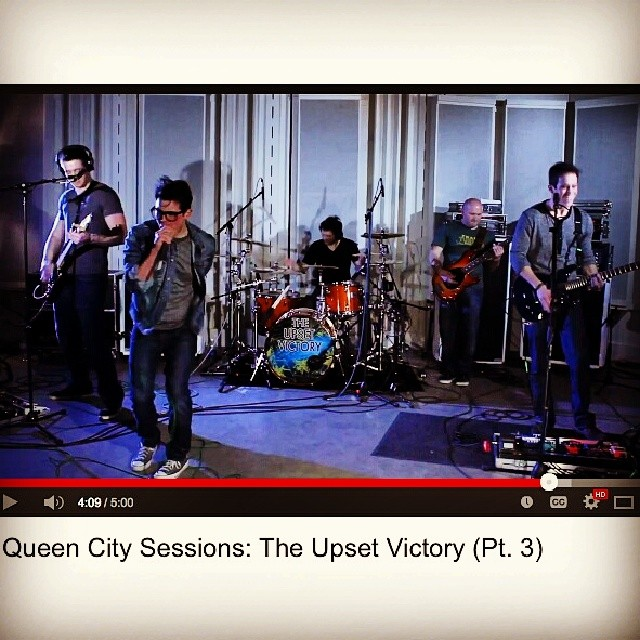 "Kick off your week w/ the final installment, part 3, of our in-studio performance & interview on Queen City Sessions. Featuring our song ""In Our Hands"". Thank you again to Tim & the entire Queen City Sessions/Bearcast Media production team!    http://www.youtube.com/watch?v=lnv3Z9Z90xE&feature=share&list=UUbCjbnpTB0Tzsx3iqMnZppg      #wallstreet #sessions #studio #UC #university #bearcats #radio #bearcast #media #production #video #singer  #TV #HD #interview #Cincinnati #Clifton #cincymusic #queencity #music #record #musician #band #lyrics #comment #performance #interview #show"