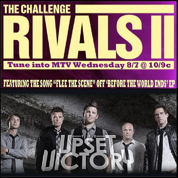 "Our track, ""Flee The Scene"", off the 'Before the World Ends' EP will be used in Wednesday's episode of The Challenge on @MTV - airs 10/9c! Thanks to Bob & Scott over at our label - Authentik Artists!     #MTV #thechallenge #rivalsII #track #song #single #episode #realityshow #TV #Wednesday #beforetheworldends #CD #EP #artists #authentikartists #rock #pop #music #bands #musicians #musicbiz"