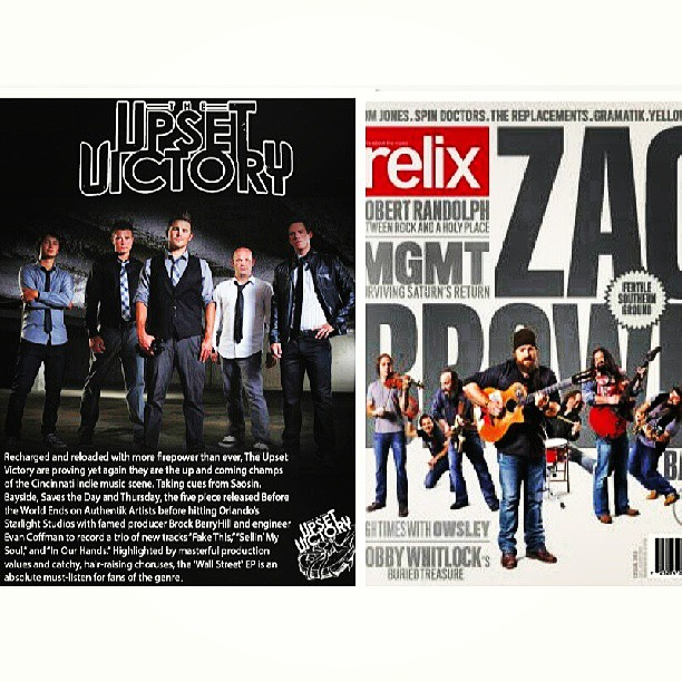The renowned Relix Magazine has featured TUV as a band 'On the Rise' in their July/August Anniversary Music Festival Issue. We're honored to be apart of such a historical music magazine.     Be sure to snag a copy at all major retailers or online here:  http://www.relix.com      Photography props to our friends @ap_cmm & @jeremykramerphoto    @RelixMag #theupsetvictory #feature #relix   #mag #magazine #print #online #summer #July #August #musicfestivals #concert #festival #edition #article #rise #artist #musician #band #guitarist #singer #drummer #bassist #DIY #history #indieartist #musicbiz #lifestyle #art #music #photography #design #friends #bunburyfestival #cincymusic #photography #mgmt #zacbrown
