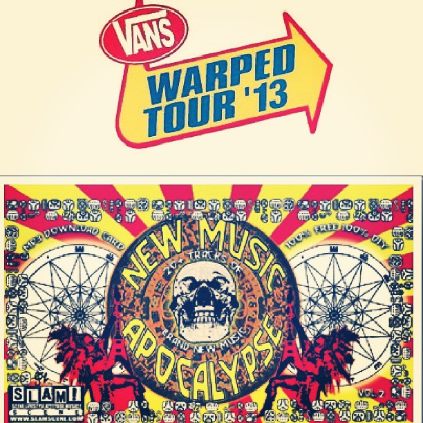 "Are you at the Van's @warpedtour today in Pomona, CA?? Be sure to pick up the 'New Music Apocalypse' FREE download card put out by S.L.A.M.! Scene Magazine. Our single ""Fake This"" is featured on this killer compilation along w/ a ton of great bands. http://www.slamscene.com/2013/06/12/music-apocalypse-vol-2-summer-2013/#more-4669 The download code is: summer2013 #slam #magazine #vans #warpedtour #2013 #Pomona #California #tour #concert #festival #musician #band #downloadcard #free #single #fake #theupsetvictory #summer #new #music #scene #code #free"