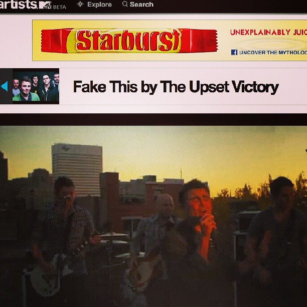 "Head over to @MTV & check out our artist page. Access exclusive content & w/ your help the ""Fake This"" music video could be ON AIR!      http://www.mtv.com/artists/the-upset-victory      #MTV #artists #musicvideo #musician #band #rock #pop #website #like #repost #love #CMT #VH1 #songs #photos #drummer #singer #guitarist #bassist #onair #online #content #exclusive #theupsetvictory #cincinnati #Ohio"