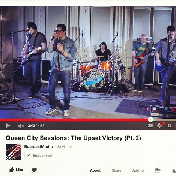 "Happy Friday! Kick off your weekend by checking out pt. 2 of our interview & in-studio performance on Queen City Sessions, featuring ""Sellin' My Soul"".     Thank you again to Tim & the entire Queen City Sessions/Bearcast Radio production team!      http://www.youtube.com/watch?v=1jGaYIOwvjE      #sellin #soul #wallstreet #queencity #sessions #studio #UC #university #bearcats #radio #video #singer #new #TV #HD #interview #cincinnati #music #record #musician #band #sing #weekend #lyrics #love #like #comment #friday #performance #show"