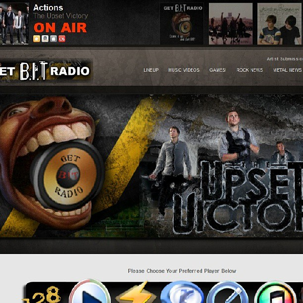"Get BIT Radio is featuring our singles - ""Fake This"" & ""Sellin' My Soul"" as well as all three music videos for their artist spotlight series. Head over & stream some tunes from this great station! http://www.getbitradio.com #radio #feature #spotlight #musicvideo #singles #theupsetvictory #sellin #soul #fake #artist #musician #guitarist #singer #internet #DIY #musicbiz #cincinnati #ohio #cincymusic #wallstreet #rock #pop #songs #itunes #music #indieartist"