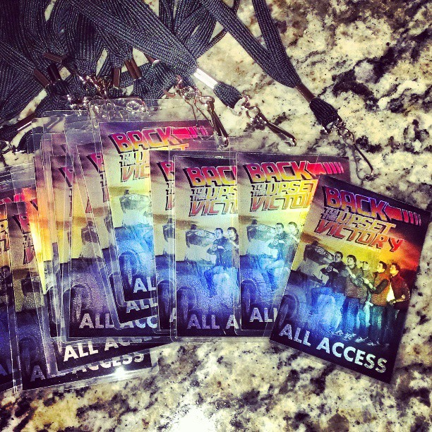 Lots of passes courtesy of #HellcatDesignGroup … Hope to see you all THIS Saturday at #TheMadisonTheater for @theupsetvictory 's anniversary #show / #party! Photography props @ap_cmm #metallic #hologram