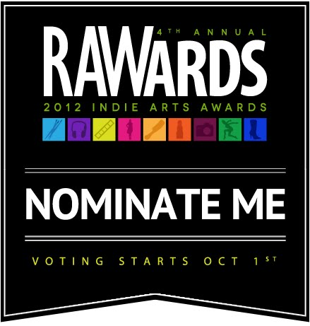 Hey friends! TUV has been nominated for the 2012 RAW Awards. It'd mean the world if you took a few moments out of your day to cast a vote! http://www.rawartists.org/theupsetvictory