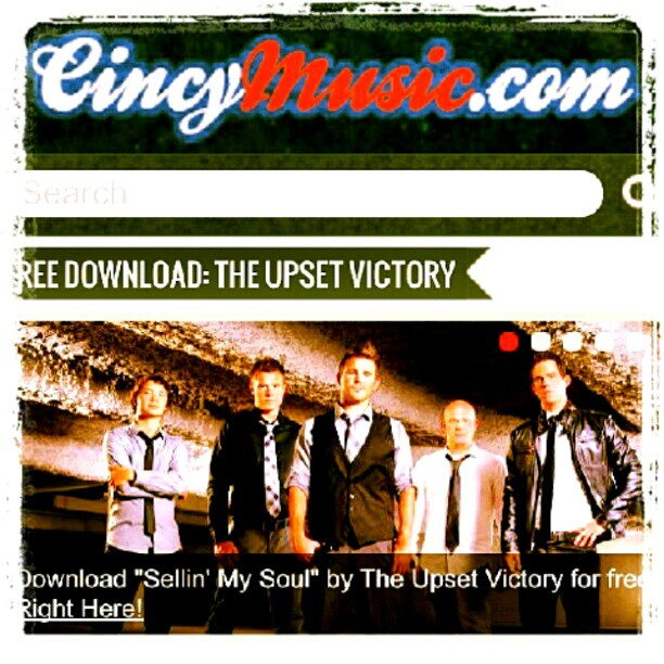 "Our friends over at Cincymusic.com have featured one of our new songs,""Sellin' My Soul""! (Taken with Instagram)"