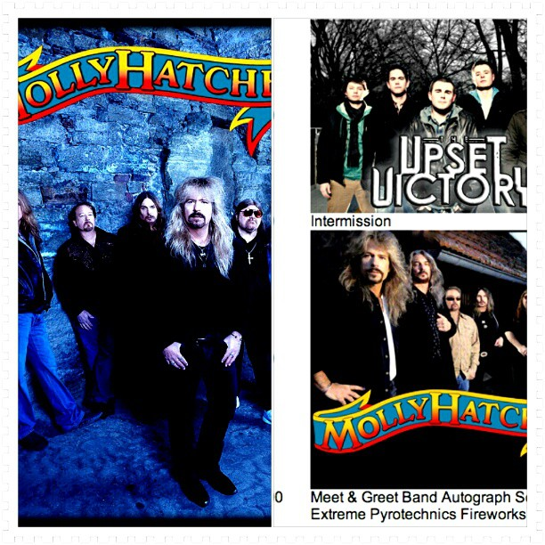 We're sharing the stage w/ legendary rockers Molly Hatchet 9/8! Don't miss out on this killer music festival!      www.greatmiamiriverdays.org  (Taken with  Instagram )